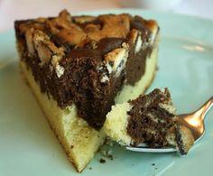Jane's Sweets & Baking Journal: Marble Mint-Milano Cake . . .