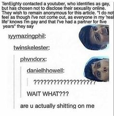 lol it says danielhhowell... with two h's