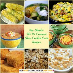 At AllFreeSlowCookerRecipes.com, we've got a variety of slow cooker corn recipes, including starters, main dishes, sides, and even dessert!