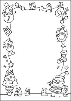 Christmas drawings for print - Weihnachten - kind Christmas Art Projects, Christmas Journal, Christmas Doodles, Christmas Drawing, Noel Christmas, Christmas Activities, Christmas Crafts For Kids, Christmas Colors, Christmas Cards