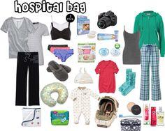 """Ultimate Hospital Bag"" by nbarrett324 on Polyvore"