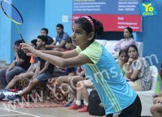 Congratulations Sonali Singh for being runner-up with 21-8, 21-9 in Girls Singles U15 YoGems Badminton Championship series,Noida.
