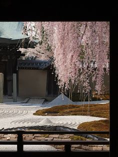 quiet spring morning at Kodaiji Temple, Kyoto, Japan: photo by k n u l p, via Flickr