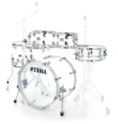 "Tama VI62RZS-CI Silv. Mirage Kesselsatz beinhaltet:  22"" x 16"" Bass Drum (ohne Rosette) 10"" x 07"" Tom Tom 12"" x 08"" Tom Tom 14"" x 12"" thomann Floortom 16"" x 14"" Floortom 14"" x 06"" Snare"