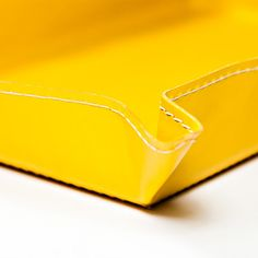 Bethge | It's just a detail. A detail of a yellow tray. Handmade in Italy. Really nice and sunny.