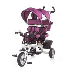 Chipolino Apollo tricikli kuplával, a legszuperebb járgány a kicsinek… Apollo, Panda, Baby Strollers, Purple, Children, Design, Tricycle, Walks, Twins