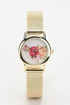 Rose Mesh Watch