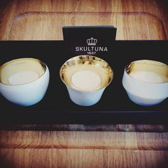 Mother's Day 13th March. Let it shine, let it sparkle! Your Mum will feel like a Queen with these little candleholders around her. They are like birthday candles to every day!   SKULTUNA Kin tealight holders set of three