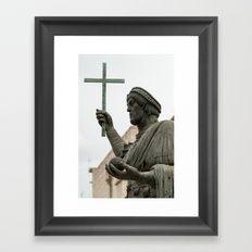Italian sculpture Framed Art Print