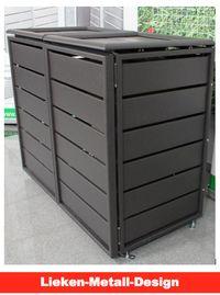 Mülltonnenbox Aluminium – Qualität aus Leichtmetall