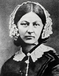 Florence Nightingale upptäcker vikten av sjukhushygien ca 1846