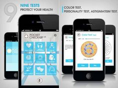 Health App Pocket Check-Up for iPhone