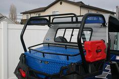 Polaris RZR Cargo Racks- RyFab RZR Cargo Box and ATV Accessories