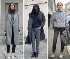 GET THE LOOK :: HEAD-TO-TOE GREY
