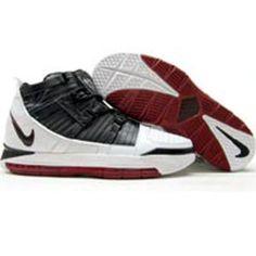 Nike Zoom LeBron 3 III (white   black   varsity crimson) 86cd1b144