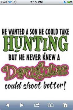 Country girl wisdom.