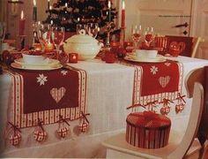 Toalhas de Mesa Para o Natal - Pontos & Linhas