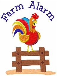 Farm Alarm! machine embroidery design