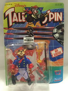 (TAS020731) - Playmates Disney's Tale Spin Action Figure - Don Karnage