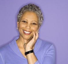 Can You Ever Be Too Old To Go Natural? http://www.blackhairinformation.com/by-type/natural-hair/can-ever-old-go-natural/