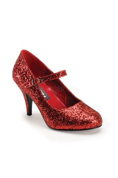 Ruby Slippers for the bride