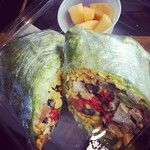 LH Express Southwest Chichen Wrap! Instagram photo by @Mary Cao