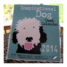 Dog Desk Calendar CD Case Style by GoingPlaces2 on Etsy, $16.00