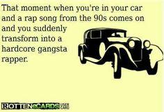 Totally! Love my 90's rap!