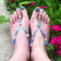 Aqua Barefoot Sandals