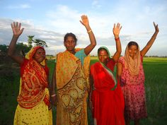 All around the world, people are raising their hands for our Because I am a girl campaign. Here's a picture of some of our friends in Nepal, where child marriage prevents many girls from getting an education. Have you raised your hand yet?