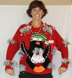 Worlds Ugliest Christmas Sweaters Xmas Decoration Pinterest