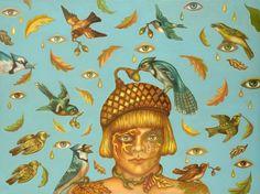"""Autumn's Descent"" by Joan Wheeler"
