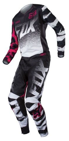 Fox Racing 2015 Womens 180 Jersey and Pants Package - Black/Pink