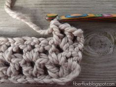 Fiber Flux: How to Crochet the V Stitch