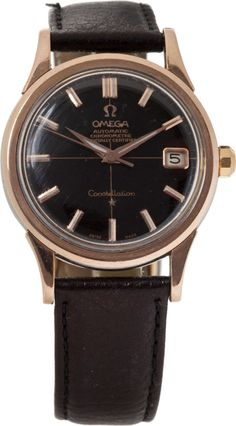 Elvis Presley Owned and Worn Omega Watch (Omega, c. 1958)