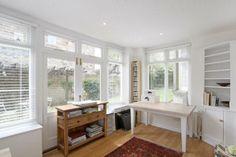 We're loving these whitewash walls with the big windows; so much natural light! #Yorkshirepropertyoftheweek