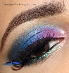 Tutorial for this look on Cosmetic Blur.