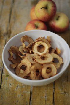 Chips de Maçã - As minhas Receitas