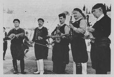 Εορτασμοί της 4ης Αυγούστου: Κρητικοί λυράρηδες και χορευτές στο Παναθηναϊκό Στάδιο. ΤόποςΑθήνα Χρονολογία1937