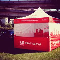 #visitbratislava party tent by @superstany
