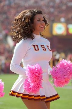 Sexy cheerleaders frosty face