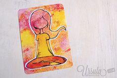Do you love yoga? Links to free yoga videos and YOGA-LOVE postcards…