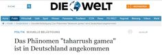 Afbeeldingsresultaat voor It's an Arab rape game called Taharrush, and now it has come to Europe