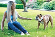 PetSafe Stubborn Dog Fence Reviews- women with dog
