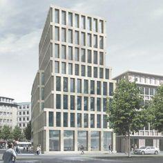 Max Dudler Architekt - Stadthaus Bahnhofsstrasse Bremen