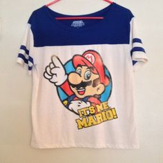 NWOT Mario Brothers Shirt Comfy and fun Mario Bros t shirt. Make me an offer!! Kohls  Tops Tees - Short Sleeve