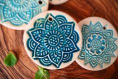 Mandala, Etsy Shop, Tableware, Wrapping, Stoneware, Wrapping Gifts, Paper Board, Handmade, Deco
