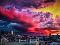 SF Stormy Clouds by T. Malachi Dunworth  on 500px