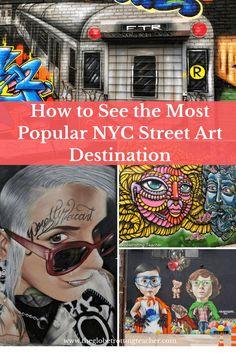 How to See the Most Popular NYC Street Art Destination | New York City Travel | Brooklyn | Street Art