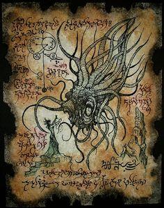 Horror de ocultismo y magia en necronomicon estrella vampiro cthulhu larp